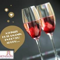 SENSUS sevgililer günü ilanı